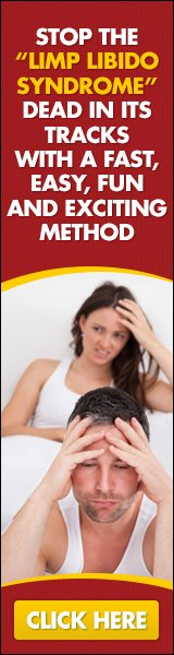 Stop the limp libido syndrome dead in its tracks with a fast, easy, fun and exciting method