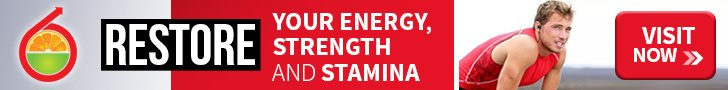 Restore Your Energy, Strength and Stamina