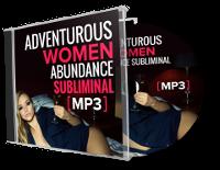 Adventurous Women Abundance Subliminal MP3